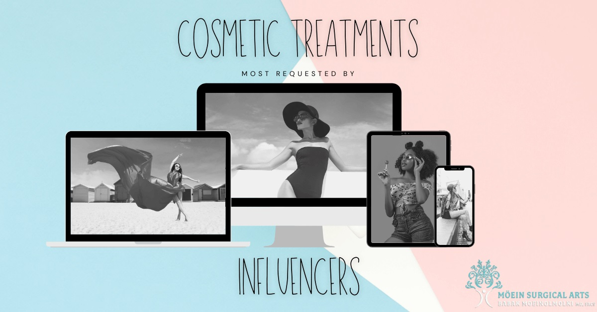 Cosmetic Procedures Requested by Social Media Influencers