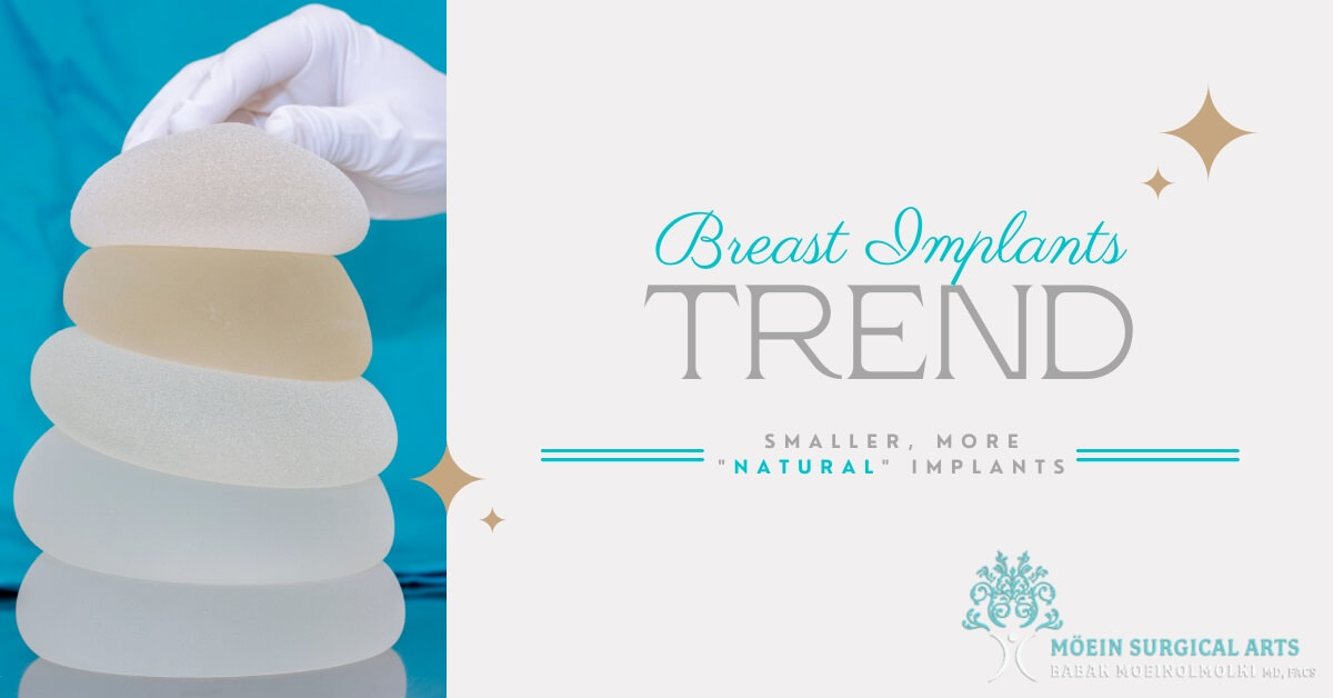 Smaller, more Natural Breast Implants